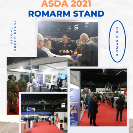 ROMARM participă la ASDA 2021