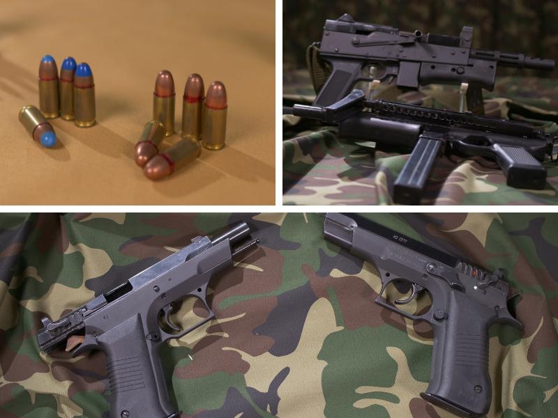 Munitie si arme calibrul NATO 9x19mm
