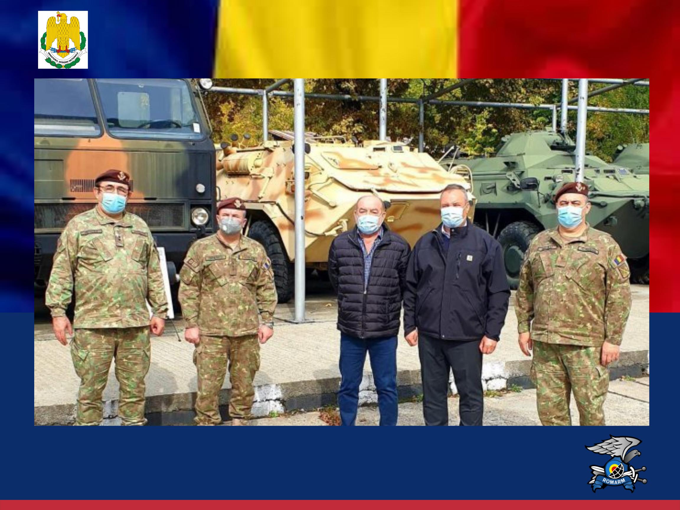 Vizita oficială a Ministrului Apărării Naționale, Nicolae-Ionel Ciucă la Uzina Automecanică Moreni